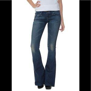 True Religion Carrie Titan Skinny Flare Jeans 28